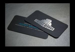 Cartão de Visita com acabamento especial - Gráfica em Brasília